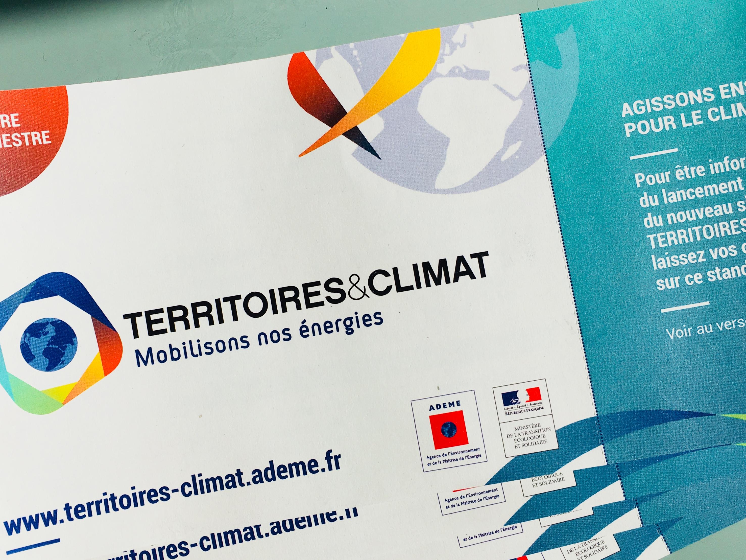 Territoires & Climat, une nouvelle identité pour le centre de ressources de l'Ademe