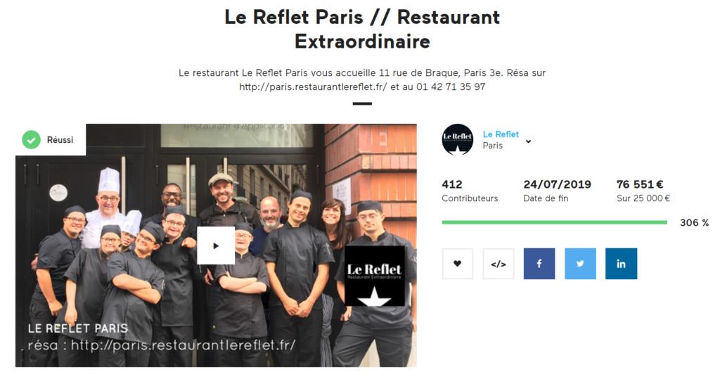 Campagne KKBB Le Reflet Paris