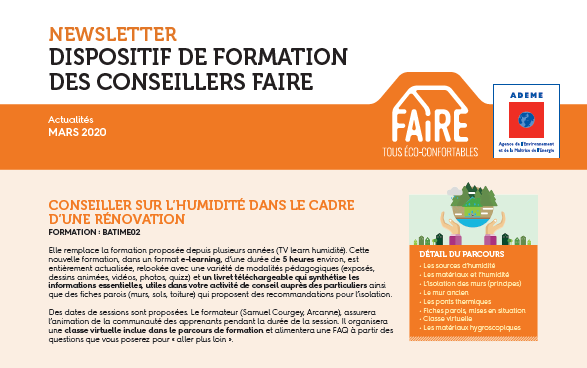Newsletter FAIRE