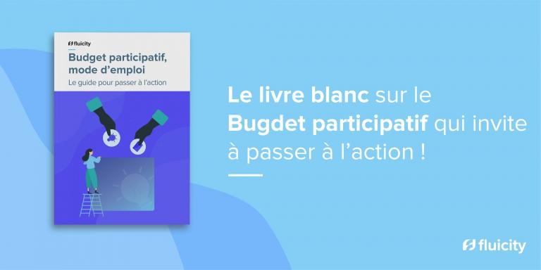 Budget participatif, le livre blanc mode d'emploi de Fluicity